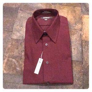 Men's l/s button down dress shirt